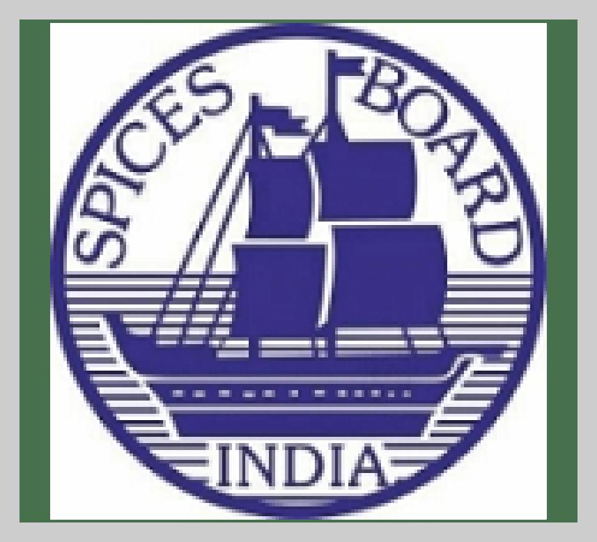 Spices Board India Certificate PJM Unjha